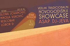 Veeliki tradicionalni showcase ASAP DJ-jeva
