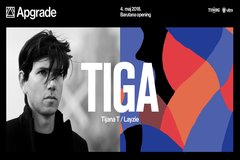 Apgrade with Tiga!