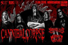 Cannibal Corpse + gosti