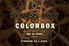 BYPASS UNIT VS COLORBOX Special live