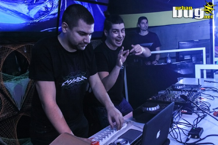 01-Alienn & Makida @ klub Plastic | Belgrade | Serbia | Nightlife | Clubbing | Trance Party