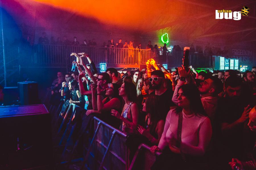 23-CDE x SNG 2018 ::  Anja Schneider / Rodriguez Jr. - LIVE @ Hangar Beograd / Srpska Nova Godina