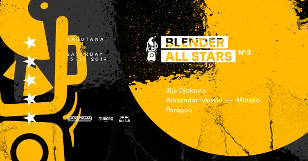 Drugo izdanje Blender All Stars žurke