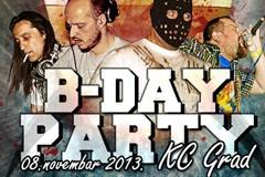 BALKAN DUBSTEP UNIT B-DAY PARTY (Rebel B, Mkdsl, Toprek & MC Bojah)
