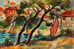 Izložba iz kolekcije akvarela Milutina Popovića