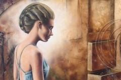 Dejan - Deki Milivojević: Tišina vremena, izložba slika