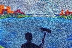 Imlekovi umetnički murali na zidovima Beograda