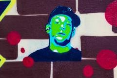 Rapresent: Grafiti mural na Lionu