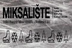 Mikser House Miksalište: Prvo otvoreno klizalište u Savamali!