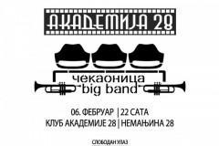 Čekaonica Big Band celovečernjim koncertom otvaraju Mesec džeza!