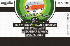 031 REPUBLIC FAMILY: Klubski spektakl uz specijalnog party gosta!