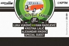 031 REPUBLIC FAMILY: Klubski spektakl uz specijalnog party gosta!