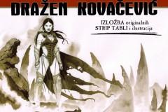 DRAŽEN KOVAČEVIĆ: Izložba originalnih strip tabli i ilustracija - O bogovima i krvi!
