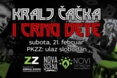 Zeleno zvono: Kralj Čačka i bend Crno dete u Zrenjaninu!