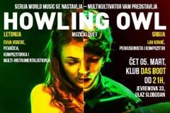 MULTIKULTIVATOR predstavlja duet HOWLING OWL u okviru WORLD MUSIC serijala!