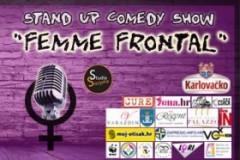 FEMME FRONTAL: Prva ženska STAND UP turneja u regiji!