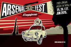 Arsenal fest 2015: Pet bina na petom Arsenal festu u Kragujevcu!