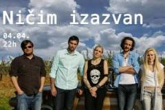 Koncert benda NIČIM IZAZVAN u Novom Sadu!