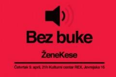 BEZ BUKE: Novi koncertni koncept u REX-u!