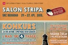 Konkurs za 13. međunarodni salon stripa SKC Beograd 2015.