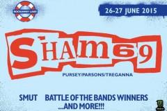 ROCKAWAY LAKE FESTIVAL: Legende britanskog panka Sham 69 - u originalnoj postavi!