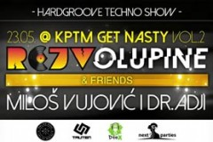 Rejv Olupine & Friends: Retro Techno & Hardgroove Battle