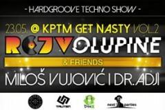 Rejv Olupine & Friends: Retro Techno & Hardgroove Battle