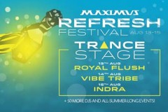 Refresh festival 2015: Royal flush, Vibe tribe i Indra na TRANCE stageu!