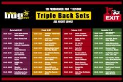 Urban BUG Stage EXIT 2015: Preko stotinu DJ-eva u triple back setovima!