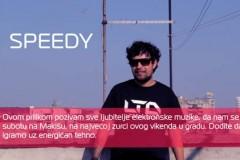 DJ Speedy: Dođite da zajedno igramo uz energičan tehno!