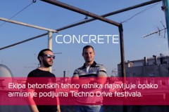 Concrete DJz: Betonski techno ratnici najavljuje armiranje podijuma na after party-ju!