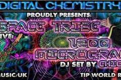 SPACE TRIBE & 1200 Micrograms by DJ Chicago u Bašti SCa!