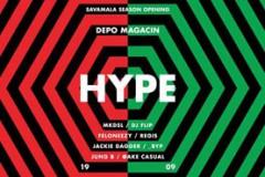 Hype: Veliko otvaranje sezone u Savamali sa čak osmoricom beogradskih DJ-eva!