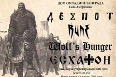 DESPOT, RUNE, WOLFS HUNGER i ESHATON: Sveslovenski festival HRAST u Domu omladine