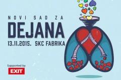 Žurka za Dejanova nova pluća: Novi Sad za Dejana!