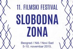 Filmski festival Slobodna Zona po 11. put u Beogradu, Novom Sadu i Nišu!