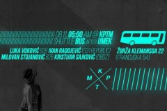 Vodim Te Na After: SHUTTEL BUS after Umek!