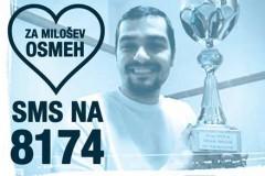 Srce za Milošev osmeh: Humanitarna akcija za mladog naučnika Miloša Nikolića!