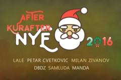 AFTER KURAFTER NYE 2016: Ultimativnim afterparti organizacije Happy People!