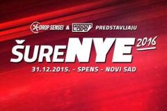 ŠureNYE 2016: Najveća žurka za doček 2016. godine u Novom Sadu!