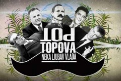 Top topova: Jedinstven art performans za Srpsku NG