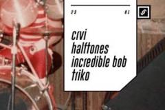 CRVI, HALFTONES, INCREDIBLE BOB & TRIKO: Rokanje u klubu Drugstore!