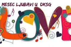 Mesec ljubavi u DKSG: Program za nedelju 8-14. februar