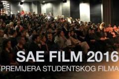 SAE FILM 2016: Godišnja revija filmova studenata SAE Instituta