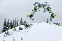 Brett Turcotte: Prvi backflip na Yeti SnowMX!