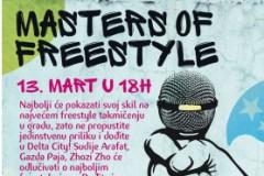 Masters Of Freestyle: Fristajl takmičenje u Delta City-u!