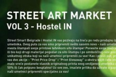 Street Art Market - Vol 3: Prodajna izložba uličnih umetnika u Hostelu IN