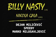 TECHNO DRIVE 2: Billy Nasty, pionir techno muzike, ponovo u Beogradu!