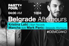 Belgrade afterhours: Kristina Lalić, Mancha i Mark Panic u klubu KPTM
