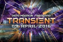 TRANSIENT ove subote širi psychedelic trance zvuk i energiju u Magacinu Depo